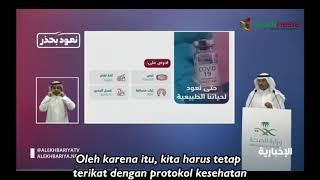 Video:Jubir Kemenkes Saudi Sampaikan Kabar Baik Kembali Ke Kehidupan Normal