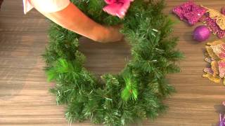 Decorating a Princess Wreath for young Girl