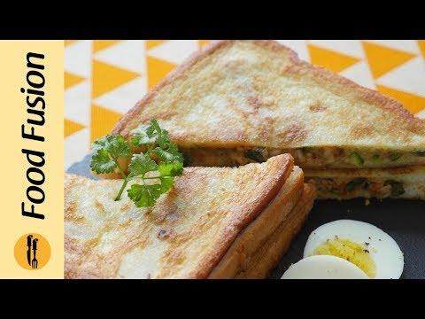 Fried chicken Tikka sandwich Recipe By Food Fusion (Ramzan Special Recipe)