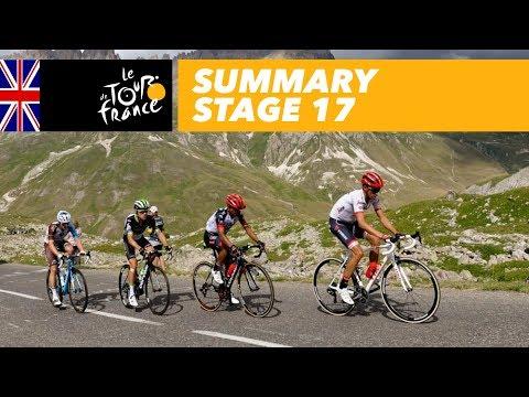 Summary - Stage 17 - Tour de France 2017