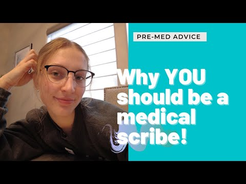 My Experience as a Medical Scribe // Why You Should Be One!!