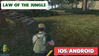 LAW OF THE JUNGLE ( BATTLE ROYALE ) GAMEPLAY - iOS / ANDROID