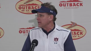 What Gus Malzahn said after Auburn's loss to Minnesota in Outback Bowl