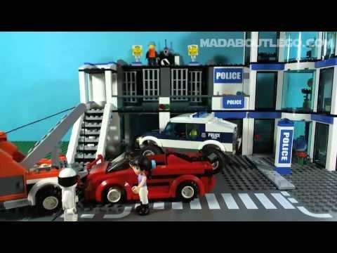Vidéo LEGO City 60007 : La course poursuite de la police spéciale