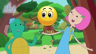 Oyuncak Dünyası İbi, Tosi, Pumpa ve Hoppa Renklendirme İbi ve Tosi Çizgi Filmi Renklendirme