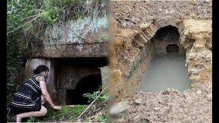 Người phụ nữ liều mình ra mộ hoang câu cá, cá đầy ắp giỏ mà lại bỏ chạy vì nhìn thấy thứ này!!!