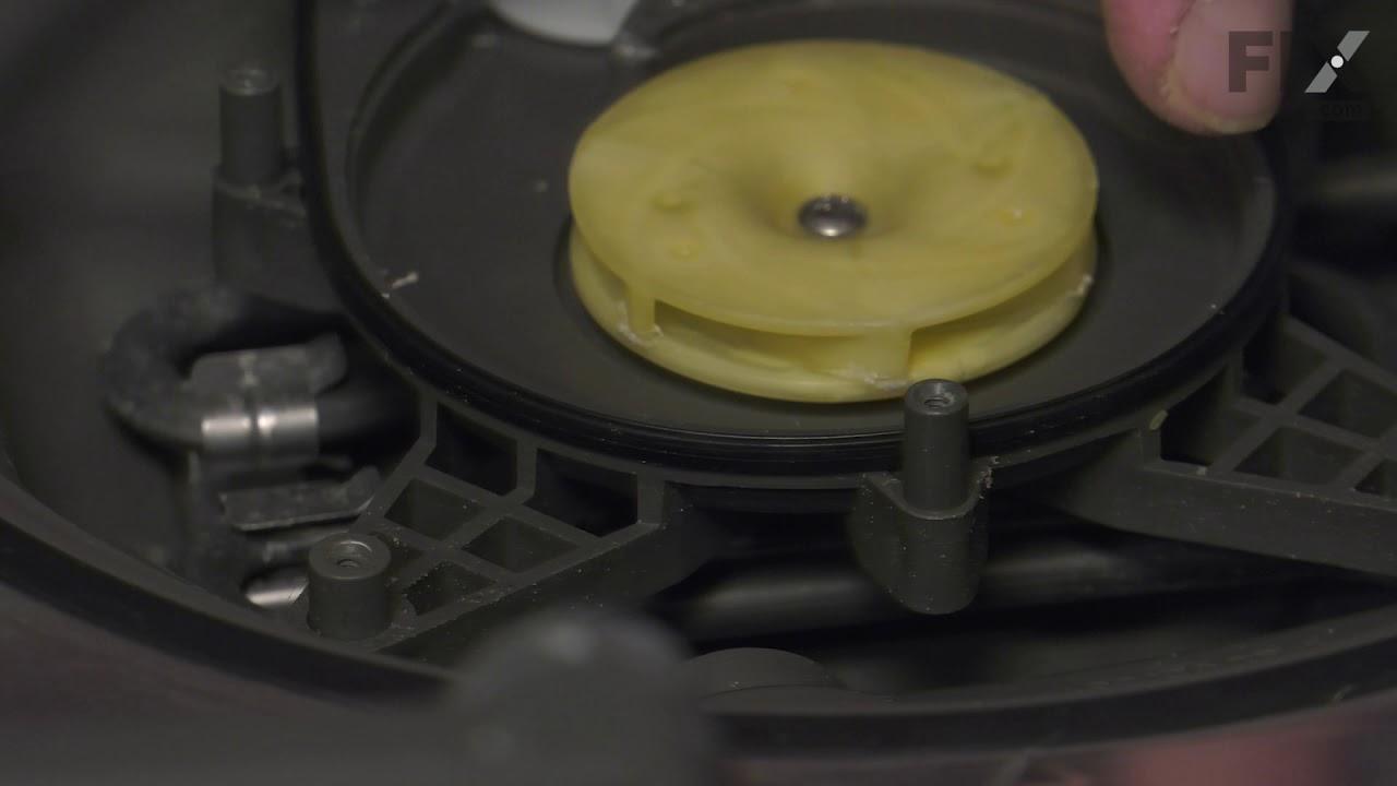 Replacing your LG Dishwasher Pump Gasket