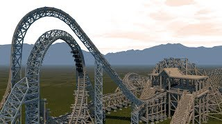 Eye of the Storm POV - Wooden Looping Coaster - Nolimits Coaster 2