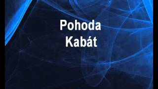 Kabát - Pohoda (karaoke z www.karaoke-zabava.cz)