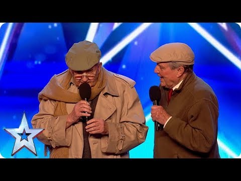 OAPs? More like OMGs! | Golden Oldies on Britain's Got Talent
