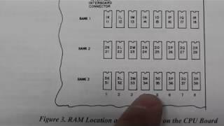 Robotron Ram Error fix with 4164