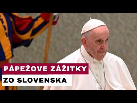 Pri generálnej audiencii sa Svätý Otec podelil so zážitkami zo Slovenska