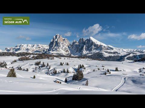 Inverno sull' Alpe di Siusi