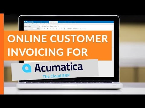 Customer Invoicing and Bill Pay for Acumatica