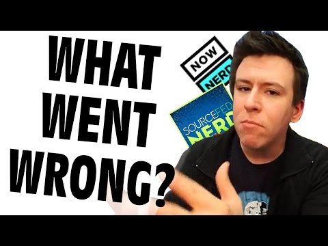 The Fall of Philip DeFranco's SourceFed Nerd - GFM (NowThis Nerd Debacle)