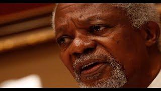 BREAKING NEWS: Kofi Annan, former UN Sec Gen, is dead