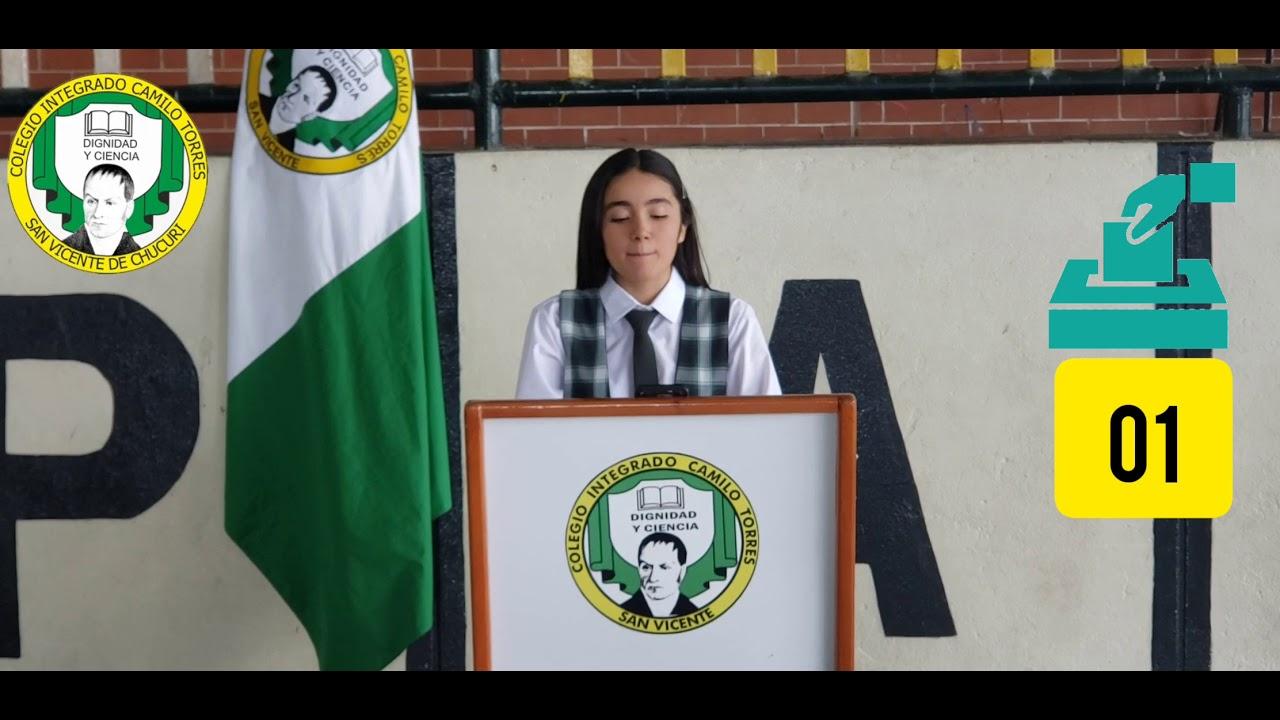 Candidata Personería - Paula Cárdenas