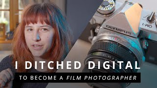 FILM vs DIGITAL! I Sold My DSLR To Buy A Film Camera | Film Photography Tips for Beginners