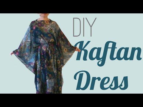 Video Easy DIY Kaftan Dress / Cover Up
