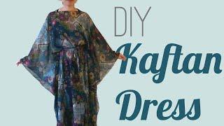 Easy DIY Kaftan Dress / Cover Up