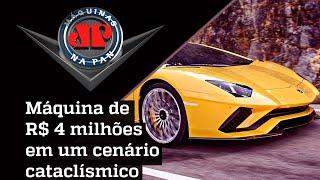 Ficção ou Realidade? Lamborghini Aventador acelera em meio ao apocalipse | MÁQUINAS NA PAN
