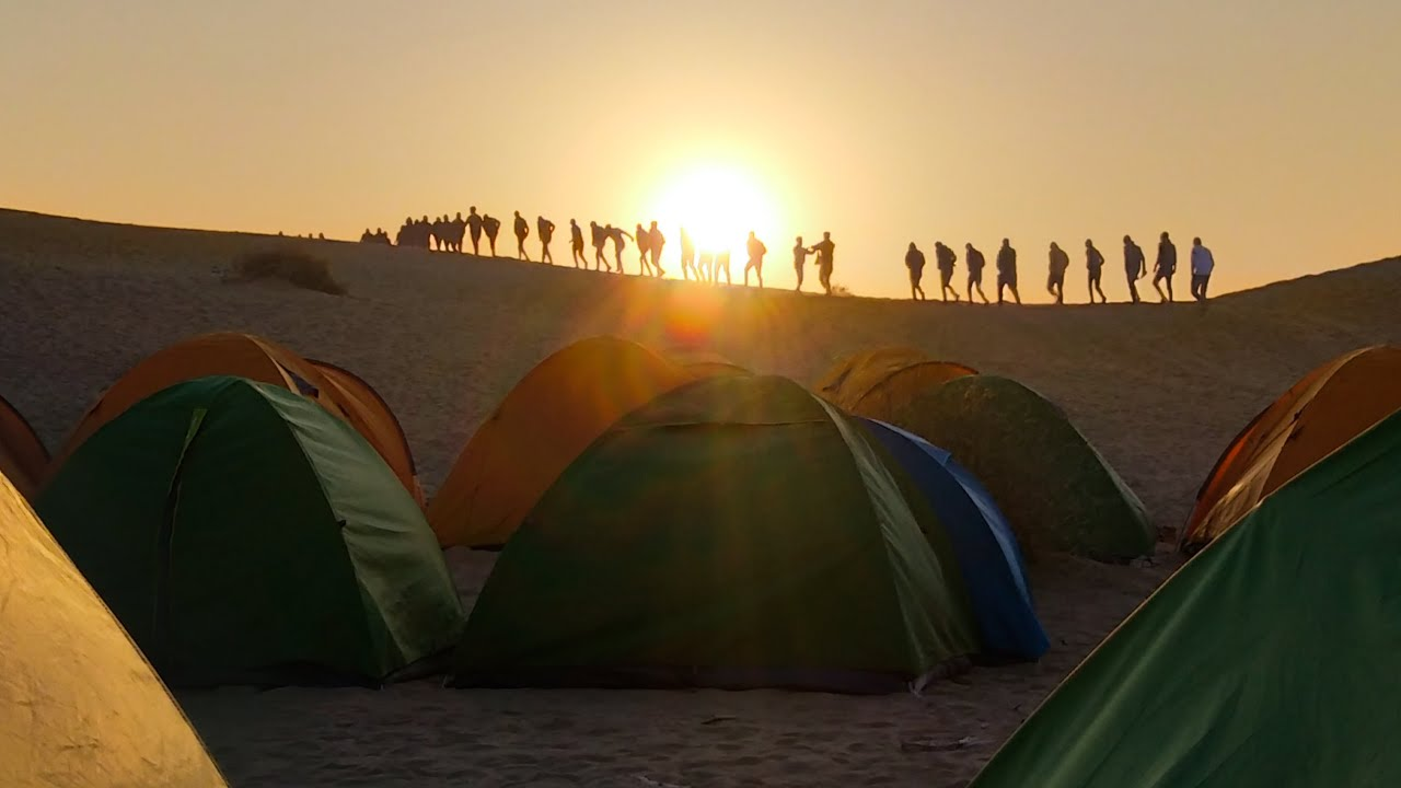 Jaisalmer Desert Camping Video