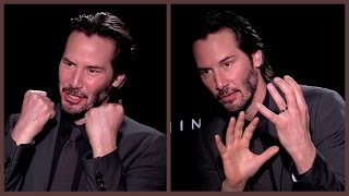 Keanu Reeves Talks Inner Demons And His Relationship With Romance