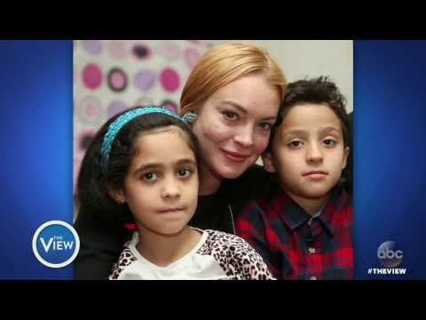 Lindsay Lohan Talks Activism In Turkey, Addiction & Mean Girls Sequel | The View