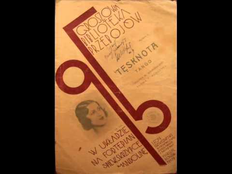 Chor Dana - Tesknota (tango, 1933).avi