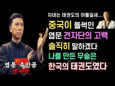 난 내 아들에겐 한국의 태권도를 가르친다