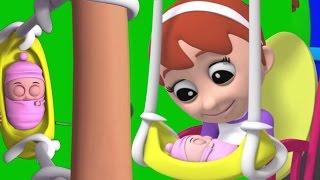 Скала A до свидания младенец   Детские песни и рифма   Дети учатся   Baby Songs   Rock A Bye Baby