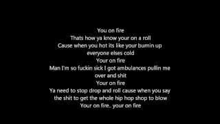 Eminem -  On Fire ( LYRICS)