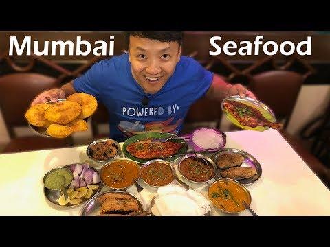 Street Food & Insane SEAFOOD in Mumbai India