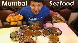 Street Food & Insane SEAFOOD in Mumbai India