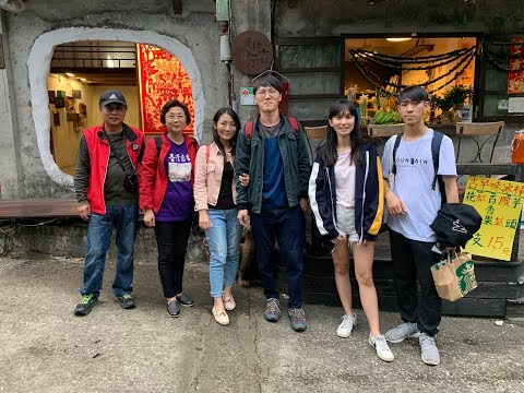 2019-10-20 {Melody Chen} Painting of Chen Pin Fishing Harbour & Treasure Hill Artist Village