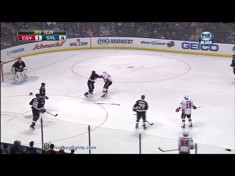 Ryan Reaves vs. Tim Jackman