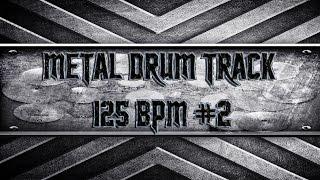 Rammstein Style Metal Drum Track 125 BPM (HQ,HD)