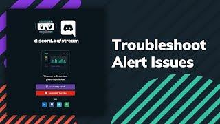 streamlabs alerts not working