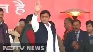 Akhilesh Yadav Stages Coup, Declared Samajwadi Party Chief At Big Meet