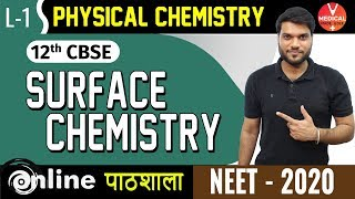 Surface Chemistry Class 12 | Absorption & Adsorption Isotherm-L1 | Chemistry | Neet 2020 Preparation