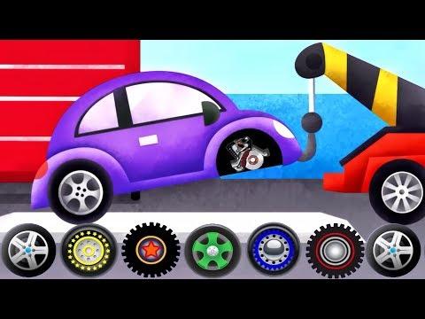 Cars & Trucks - Tow Trucks For Kids | Emergency Vehicles Trucks - by Duck Moose| Videos for Children