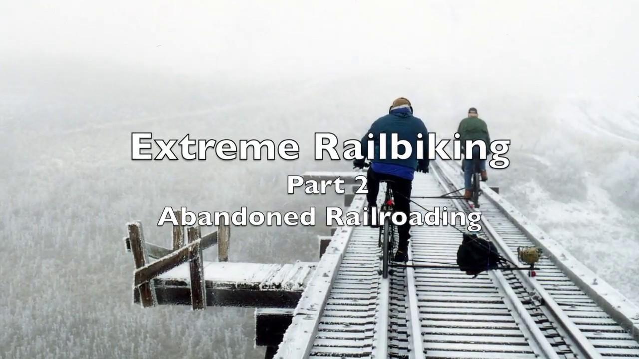 Extreme railbiking