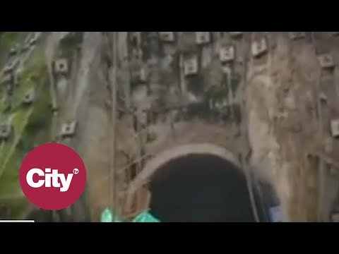 Impresionante video de nuevo derrumbe en la Via al Llano | Citytv