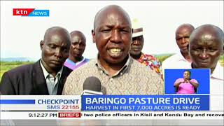 Grass planting project aims to promote peace in Baringo County