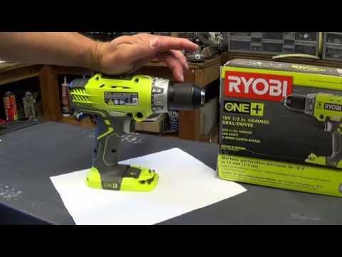 Ryobi P214 18v Hammer Drill Review
