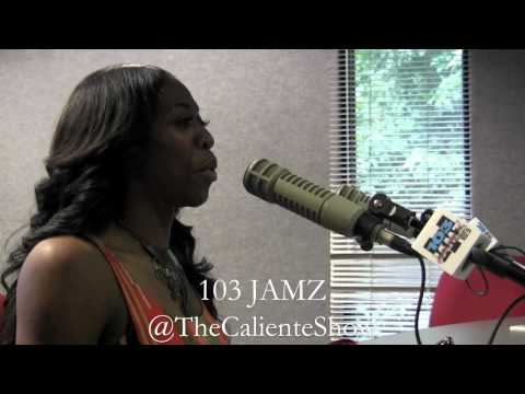 @TheCalienteShow interviews Olympic runner Francene McCorory