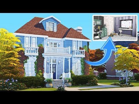 Secret Spy's House || The Sims 4: Speed Build || Part 2
