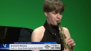 Anastasiia Koniaeva plays Étude 12 – Douze Études Caprices by Eugène BOZZA