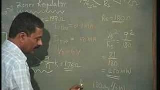 Lecture - 10 Zener Regulator and Voltage Regulator