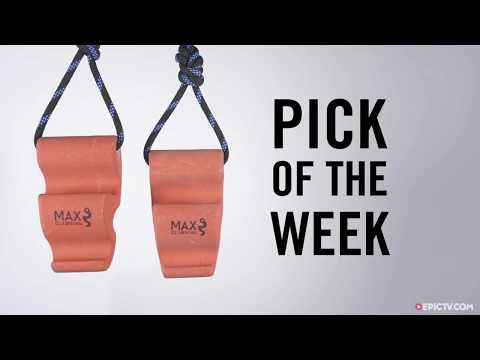 The Go Anywhere Training Solution: Maxgrips from Max Climbing